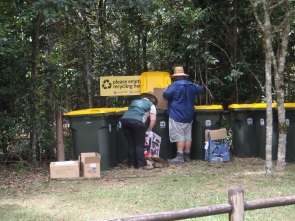 Recycling possible at Paluma